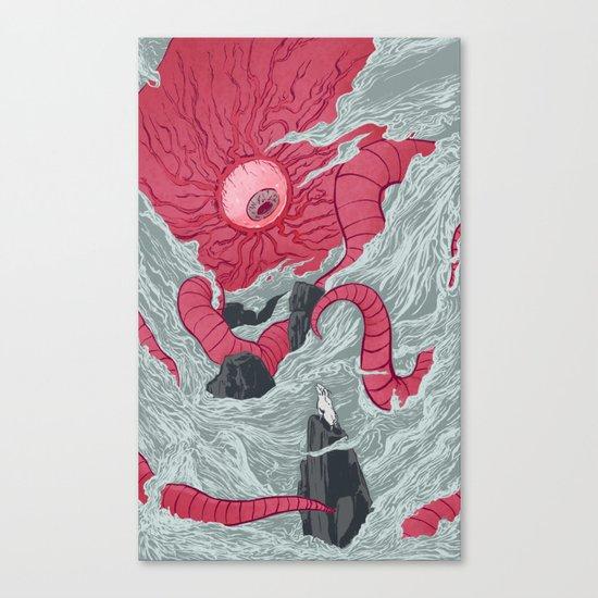 Crawling Eyes Canvas Print