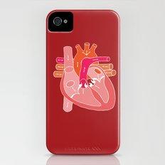 Heart Diagram Slim Case iPhone (4, 4s)