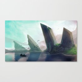 Dragonspine Lake Canvas Print