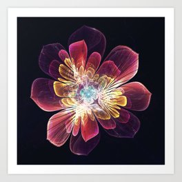 Tibet Sea Flower Art Print