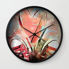 A dirty kind of love affair Wall Clock