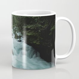 Pacific Northwest River II - Nature Photography Coffee Mug