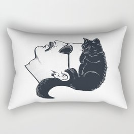 The Mullet Rectangular Pillow