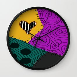 Sally - Nightmare Before Christmas Wall Clock
