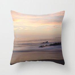 Slow Sunset Throw Pillow