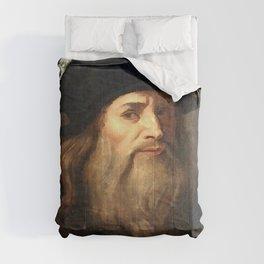 The Lucan portrait of Leonardo da Vinci is a late 15th- or early 16th-century portrait Comforters