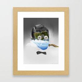 Faces 1/5 - Fabric Framed Art Print