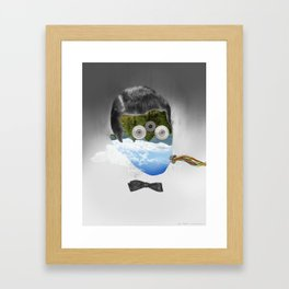 Faces 1/5 - Fabric Framed Art Print