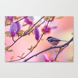Sweet Magnolia Song Canvas Print