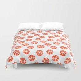 Basketball Pattern Duvet Cover