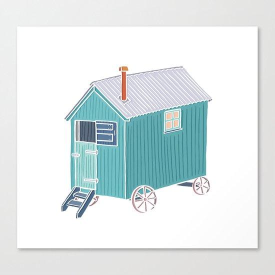 Little Shepherd Hut Canvas Print