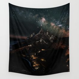 Velaris, City of Starlight, Night Court, A Court of Thorns and Roses Wall Tapestry