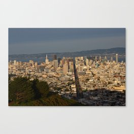 San Francisco from Twin Peaks Canvas Print