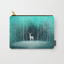 Deer in the Dark Forest Carry-All Pouch