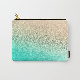 GOLD AQUA Carry-All Pouch