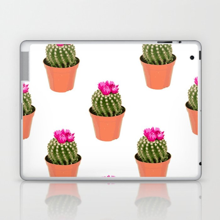 Pink Cactus Multi Laptop & iPad Skin