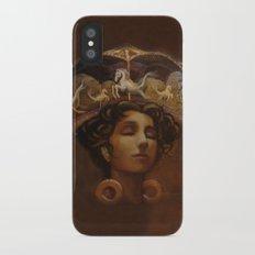 Brass Ring Dream iPhone X Slim Case