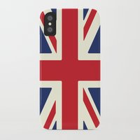 uk iPhone & iPod Cases featuring UK by Lucy Jacquard
