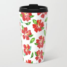Hawaiian flowers Travel Mug