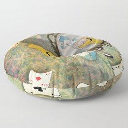 falling down Floor Pillow