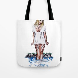 weirdling flower child Tote Bag
