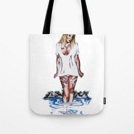 weirdling flower child Tote Bag