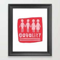 Equality Love II Framed Art Print