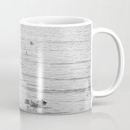 Trash Bird, black and white Coffee Mug