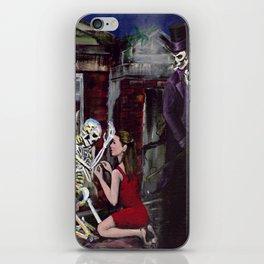 RARE LOVE, Halloween, Original art iPhone Skin