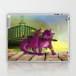 Dragonlings of Valdier: Jade Laptop & iPad Skin