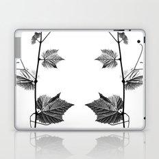 wine leaf abstract III Laptop & iPad Skin
