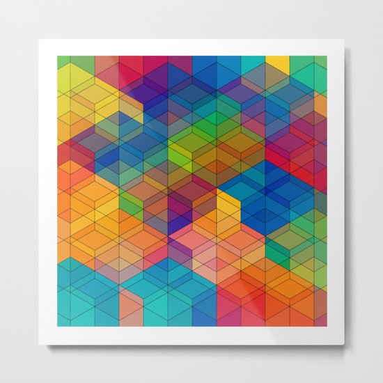 Cuben Intense No.2 Metal Print