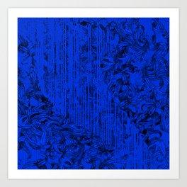 Dark entanglement Art Print