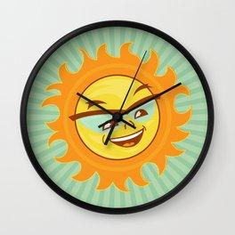 Mr. Sun Wall Clock