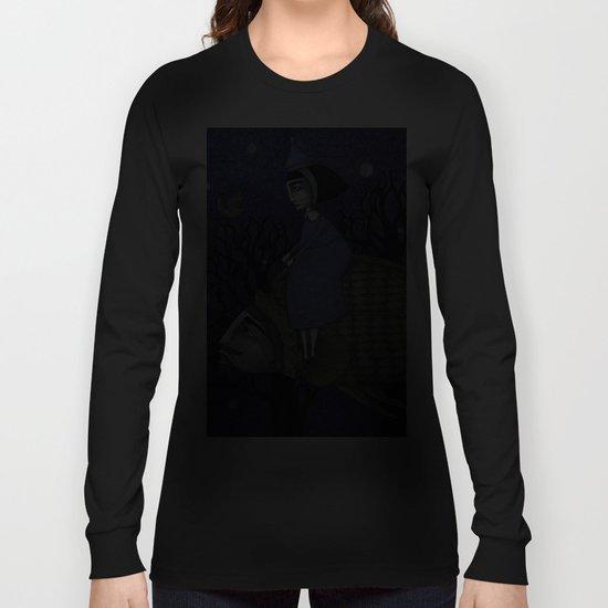 Kingfisher's Invitation to Tea (2) Long Sleeve T-shirt