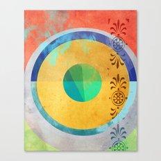 Half Quater Hue Canvas Print