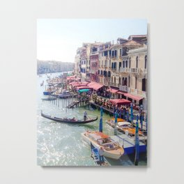 Off the Grand Canal Metal Print