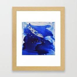 Silverleaf Feather1 Framed Art Print