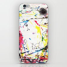 They Enjoy the Color Attack! iPhone & iPod Skin