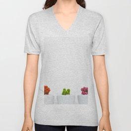 Cactus color Unisex V-Neck