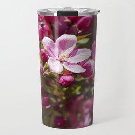 Crabapple Blossoms 15 Travel Mug