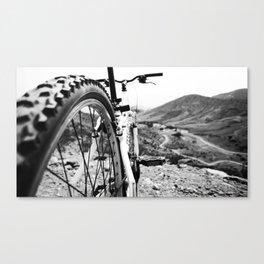 Two Wheel Hike Canvas Print