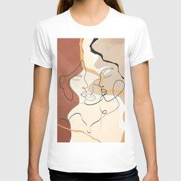 Developed Faces 01 T-shirt