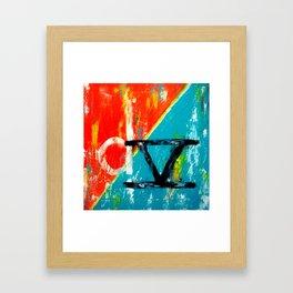 LOGO D5 Framed Art Print