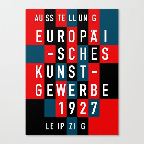 EUROPÄISCHES KUNSTGEWERBE 1927 Canvas Print