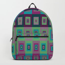 Retro Rectangle Backpack