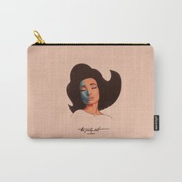 Pinkprint Illustration Carry-All Pouch