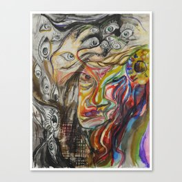 Meltdown Canvas Print