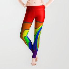 Rainbow With A Headache Leggings