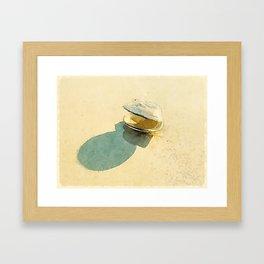 Clam Framed Art Print